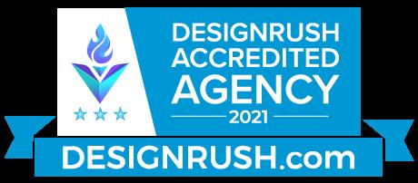 DesignRush Accredited top 30 eCommmerce Website Design Companies