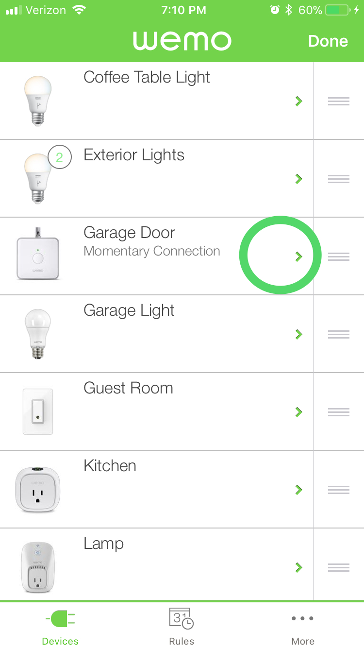 Wemo Setup Notifications