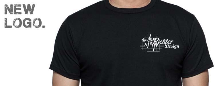 Off The Richter Design Gets New Logo
