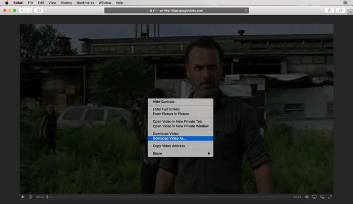 Save Streaming Video in Google Chrome Step 4