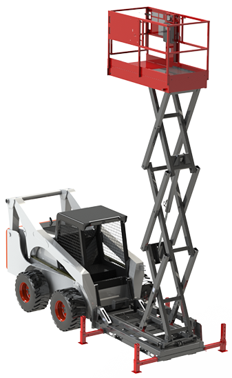Skid-Lift Attachment Up